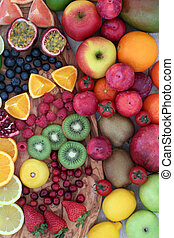 Delicious Fresh Fruit Selection