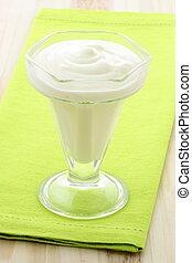 delicious fresh yogurt