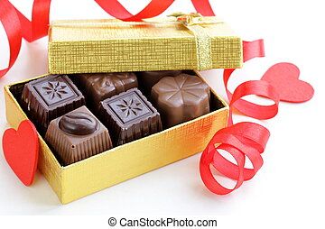 delicious gourmet chocolate candy