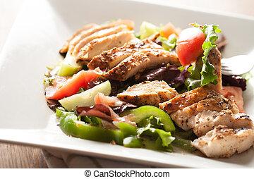 Delicious Grilled Chicken Salad