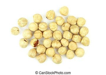 Delicious hazelnuts