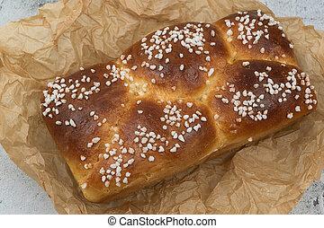 Delicious homemade brioche french bread
