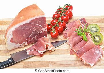 Delicious Italian ham