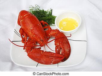 lobster dinner - delicious lobster dinner