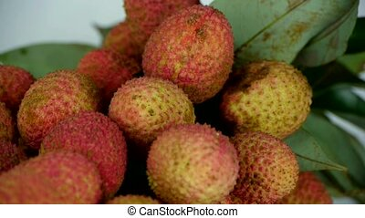 Delicious lychee.