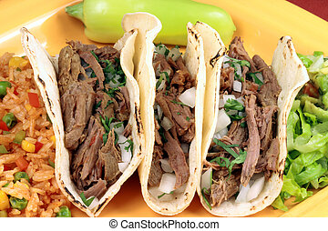 mexican tacos - Delicious mexican tacos perfect appetizer...