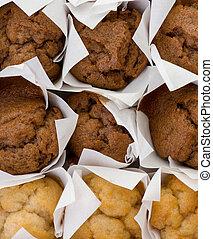 fresh mini muffin cakes