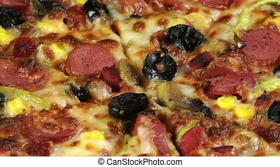 Delicious Mixed Pizza Italian Food