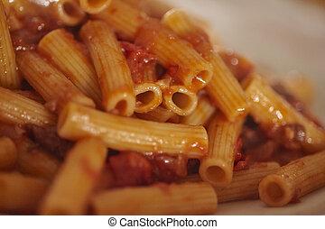 Delicious pasta detail #2