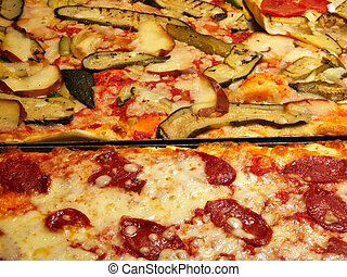 Delicious pizza Italian meal