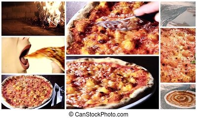 delicious pizza montage