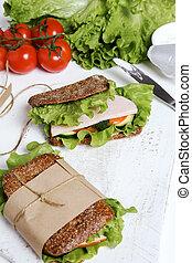 Delicious sandwich