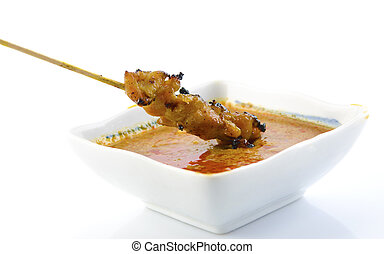 Delicious Satay chicken