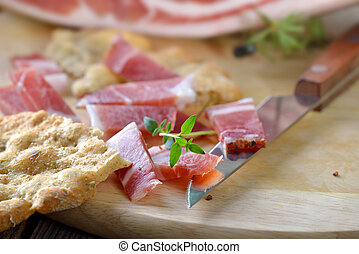 South Tyrolean bacon