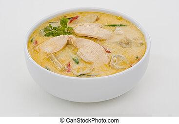spicy coconut cream soup - delicious spicy coconut cream ...