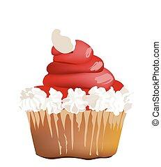 Delicious Strawberry Cupcake