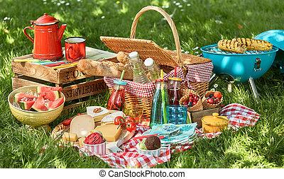 Delicious summer picnic arrangement