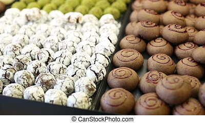 delicious sweet food 3 - variety delicious sweet food in the...