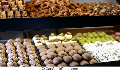delicious sweet food 5 - variety delicious sweet food in the...