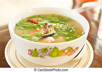 delicious thai food style / tomyum