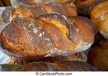 delicious toast bread mediterranean style