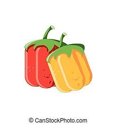 delicious tomato on white background