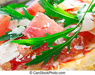 Delicious topping for Italian pizza