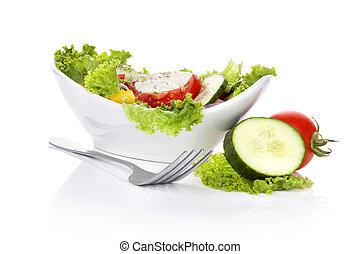 Delicious vegetable salad.