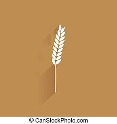 Delicious wheat icon