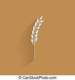Delicious wheat icon