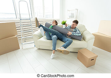 deling, echtgenoot, gezin, eigendom, ruzie, tussen, divorce., vecht, krachtmeting, strijd, andere., vrouwen, elke, vrouw, men.