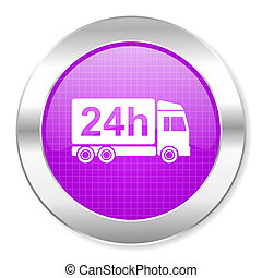 delivery 24h icon