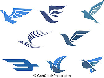 Delivery and shipping symbols