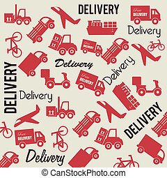 delivery background