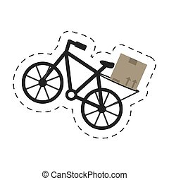 delivery bicycle box transport