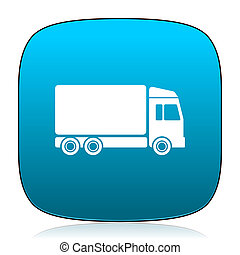 delivery blue icon