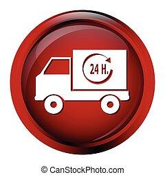 Delivery button icon