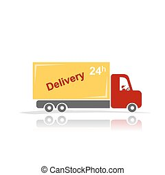 Delivery car for your design