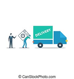 Delivery company, truck transportation