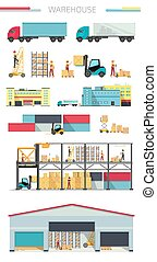 Delivery Concept Warehouse