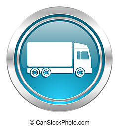 delivery icon, truck sign