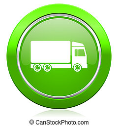 delivery icon truck signn