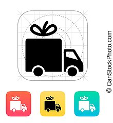 Delivery icon. Vector illustration.