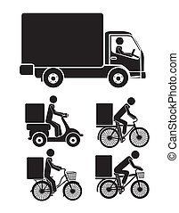 delivery icons