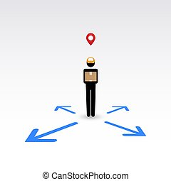 Delivery man, anywhere service 2 - Messenger, delivery man,...