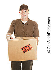Delivery Man with Package for You
