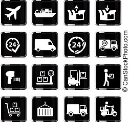 Delivery simply icons - Delivery simply symbol for web icons...