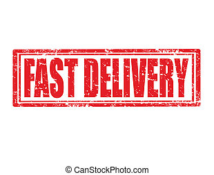 delivery-stamp, schnell