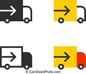 Delivery track shipping cargo