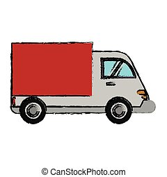 delivery truck cargo transport